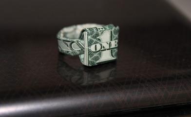 One Dollar Ring – Verlobungsring